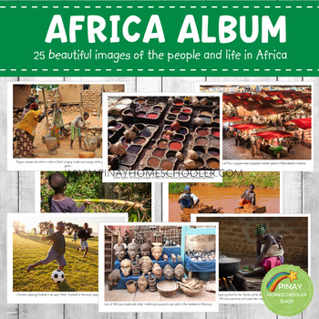 AFRICA Montessori Geography Folder