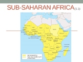 Africa Geography/History Unit Power point