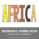 Africa Geography Layered Book