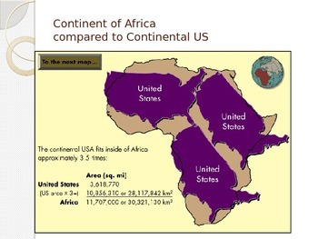 Africa Geography Lecture Slides