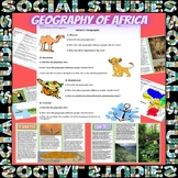 Africa Geography Lesson Plan with Great Interactive Statio