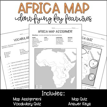 Africa Geography Map