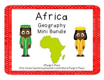 Africa Geography Mini Bundle