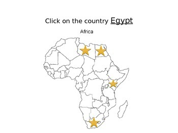 Africa Geography Review Game