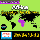 Africa - Geography/World Cultures GROWING bundle!