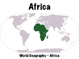 Africa Geography PowerPoint