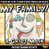 Africa Griot Family Mask Assignment Written & Oral Traditi