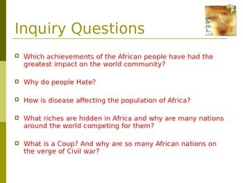 Africa Inquiry Project