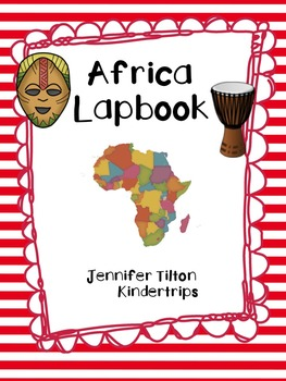 Africa Interactive Notebook/Lapbook with Reading Passages