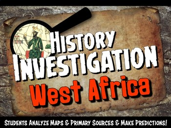 Africa Investigation History Lesson Stations or Presentati