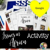 Africa - Issues in Africa Centers Activity