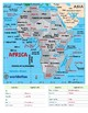 Africa Labeling Map
