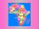 Africa Map Quiz (PowerPoint)