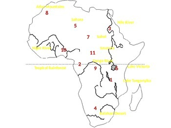 Africa Map Review