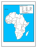 Africa Map Test