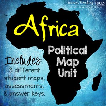 Africa: Political Map Unit