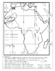 Africa Map and reading