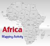 Africa - Mapping Activity