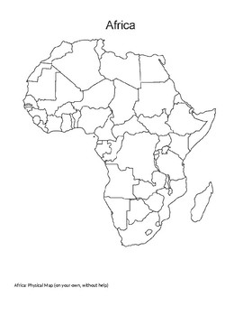 Africa Mapping Activity