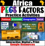 Africa PEGS Factors Interactive, Digital Lesson for Google Classroom