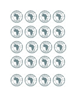 Africa Passport Stamps