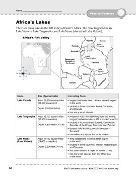 Africa: Physical Features: Bodies of Water