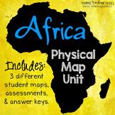 Africa: Physical Map Unit
