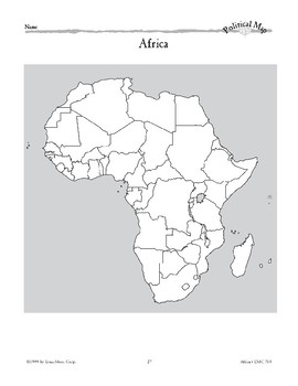 Africa: Political Divisions
