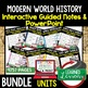 Africa Post WWII Guided Notes & PowerPoints, Digital and Print, World History