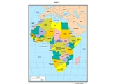 Africa PowerPoint, Notes Sheets, and Quiz