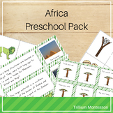 Africa Preschool Pack