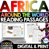 Africa Reading Passages Distance Learning Google Classroom
