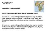 Africa Region Printable Standards