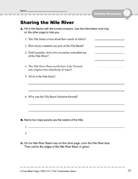 Africa: Resources: Sharing the Nile River