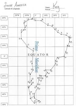 Africa & South America Bundle: Latitude & Longitude Puzzles with ...