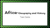 Africa Task Cards
