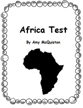 Africa Test and Study Guide