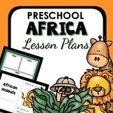 Africa Theme Preschool Lesson Plans - Africa Activities