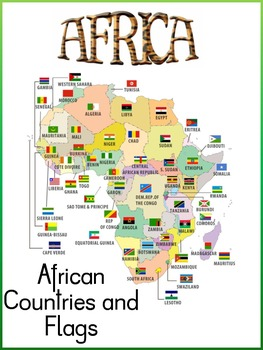 Africa Themed Posters/Flash Cards