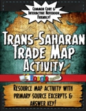 Africa Trans-Saharan Trade Resource Map Activity