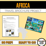 Africa Travel Brochure Project