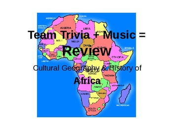Africa Trivia Review Game