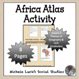 Africa Unit Atlas Introduction Activity