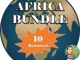 Africa Unit Bundle Includes 10 Resources!