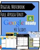 Africa Unit Digital Notebook