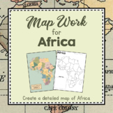 Africa Unit Study: Map Work for Africa