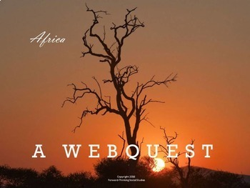 Africa: Webquest with Worksheet