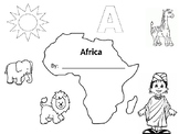 Africa Worksheet