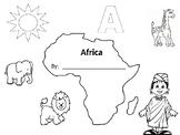 Africa Worksheet