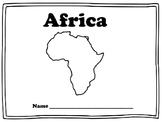Africa Worksheets